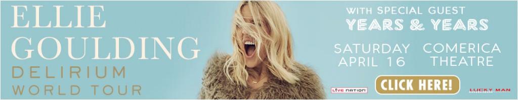 LiveNation: Ellie Goulding